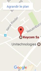Keycom SA sur Google Maps